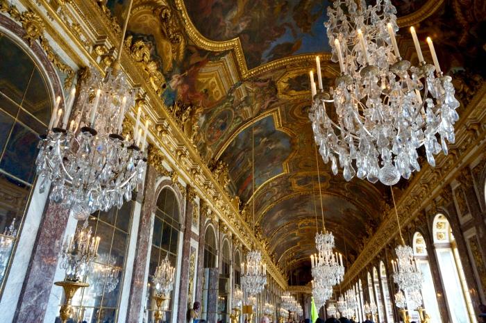 Carnets de Marine_Galerie des glaces de Versailles