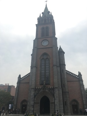 Myeongdong_catholique_cathédrale_CarnetsdeMarine